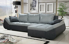 Torfu Universal Corner Sofa Bed Fabric or Faux Leather,Left & Right Hand