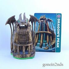 Skylanders Magic Item Spyro's Adventure DRAGONS PEAK + CARD Works on Giants