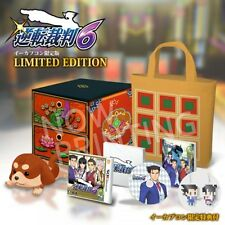 Nintendo 3DS Ace Attorney Gyakuten Saiban 6 e-CAPCOM Limited from Japan New F/S