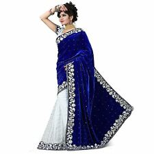 Bollywood Indian Ethnic Party Wedding Designer Saree Sari w Blouse SAREE EDH