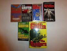 Lot of 6 Military War Books by W.E.B. Griffin in HB & PB