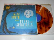"KATE SMITH sings HYMNS & SPIRITUALS 12"" LP (Colored Marble Vinyl) Tops Mayfair!!"