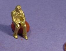 "HO/HOn3 BRASS WISEMAN BACK SHOP HBS144 STEAM LOCOMOTIVE FIREMAN FIGURE ""GARY"""