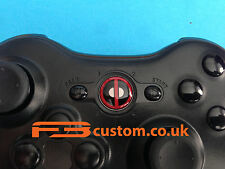 Custom Xbox 360 * Deadpool * guía botón f3custom