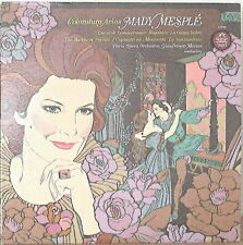 MADY MESPLE: Coloratura Arias-M1975LP with TEXT INSERT