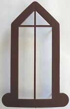 "WINDOW FRAME REPLACEMENT FOR 40"" EMPIRE CHURCH CHRISTMAS BLOW MOLD YARD DECOR"