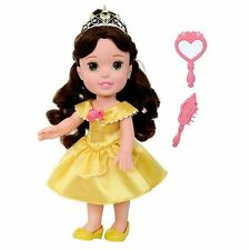 NEW My First Disney Princess BELLE Beauty & The Beast TODDLER DOLL & Brush!