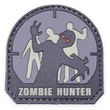 Mil-Spec Monkey airsoft Patch - Zombie Hunter PVC - grey/black