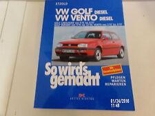 So wird´s gemacht VW Golf III / Variant & Vento Diesel ab 1991 Reparaturanleitun