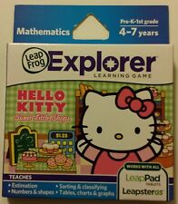 LeapFrog Explorer Hello Kitty for Math Ages 4-7 LeapPad Tablet and LeapsterGS