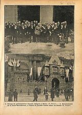 Eglise Saint-Roch Jeanne d'Arc Porte Saint-Honoré Paris Député 1920 ILLUSTRATION