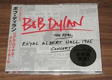 UNOPENED! Japan PROMO issue! BOB DYLAN 2 CD The REAL Royal Albert Hall 1966