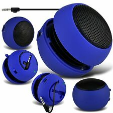 Blue Portable Capsule Rechargeable Compact Speaker For Nokia 215