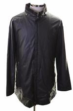 Pierre Cardin Mens Jacket Size 42 Large Black Polyester