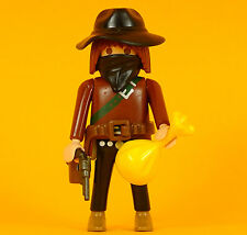 Playmobil Cowboy (4) Indianer Western ACW Civil War Native Americans Outlaw
