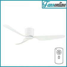 City DC Ceiling Fan With Remote (Low Profile) - White 52""