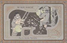 * AU BON MARCHE' - Pour la Sainte Pierrette - Laskoff ? Paris