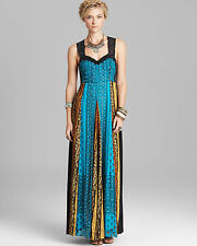 FREE PEOPLE Ocean Crinkle Star Dust Long Maxi Dress Size 6 NWT $400