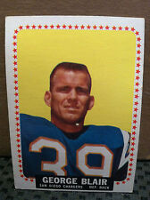 1964 Topps # 156 George Blair ....*** EX/MT***......CHARGERS........RF-2978