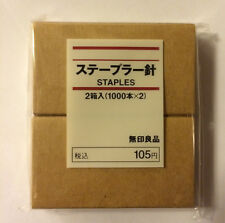MoMa Muji Staples 2 Box Pack