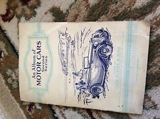 1937 Complete Album - John Player - Motor Cars Second Series m12a full set cards