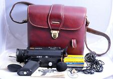 Vintage Eumig Sound 30XL Movie Camera with Swiss Made Homa Leather Bag
