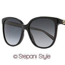 Gucci Square Sunglasses GG3819S Y6C9O Black 3819