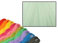 CYBERLOXSHOP PHANTASIA KANEKALON JUMBO BRAID ICED CELADON GREEN HAIR DREADS