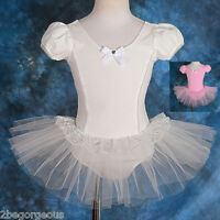 Girl Ballet Tutu Dance Costume Fancy Party Dress Up Age 2-8 Yrs 035