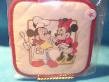 Vintage Mickey and Minnie Pot Holder from 1980's NEW and FREE SHIP!