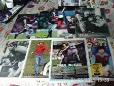aston villa football pictures about 60 colour + b+w lot 2 full