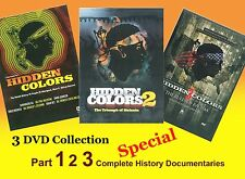 HIDDEN COLORS PART 1, 2 & 3  (3 DVD) KING FLEX