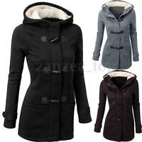 ♥ Warmer Mantel Damen Winter Fleecejacke Kapuzen Hoodie Pullover Parka Outwear ♥