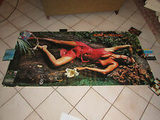"VINTAGE HUGE 37 1/2"" X 75"" ROXY MUSIC STRANDED SUBWAY PROMO POSTER PROMOTIONAL"