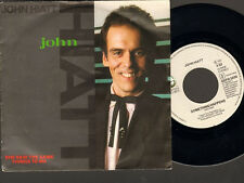 "JOHN HIATT She said the Same Things to me SINGLE 7"" Something Happens"