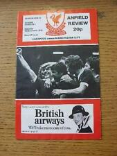18/11/1978 Liverpool v Manchester City  (Light Crease). No obvious faults, unles