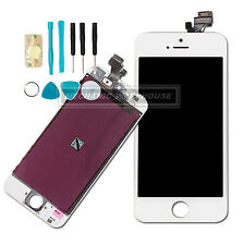 White Retina LCD Touch Screen Digitizer Display Lens For Apple iPhone 5 / 5G