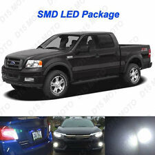 19 x White LED interior Bulbs+Fog+ Reverse +Tag  Lights for 2004-2008 Ford F150