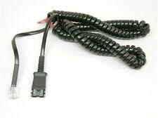 Plantronics M15D Spare QD to RJ45 modular Cable for AP15 DM15 DM15E Amplifiers