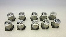 Nichicon SMD 1000uF 16V surface mount electrolytic capacitors **NEW** 10/PKG