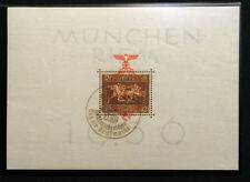Germany , 3rd Reich , Adolf Hitler Germany Mi. Block 11 , Scott Nr. B106 used..§