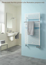 Kermi Bagnotherm Curved Designer Towel Rail Radiator.White.New! £612 Retail