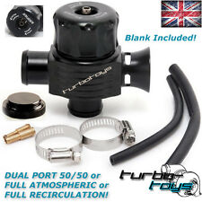 25MM UNIVERSAL DUAL PORT TURBO BOV DIVERTER DUMP BLOW OFF VALVE for VW Audi Seat