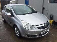 2007 Vauxhall/Opel Corsa 1.2i  Club STARTS+DRIVES MOT SPARES OR REPAIRS