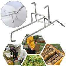 11.79'' Bee Honey Bucket Rack Holder Stainless Steel Beekeepers Easy Pour Honey