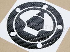 Black Fuel Gas Cap Sticker Decal For Kawasaki Ninja ZX6R ZX10R ZX14 2007-2013