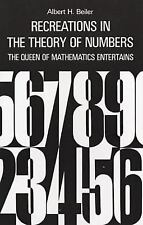 EXTRAS SHIP FREE Beiler, Albert H,Recreations in the theory of numbers; the quee