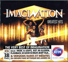 IMAGINATION - GREATEST HITS - 3 CD 12 INCH MIXES - NEW SEALED - JUST AN ILLUSION