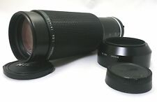 Nikon Ai-S Zoom Nikkor 100-300mm F5.6 Camera Lens With Lens Hood from Japan