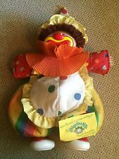 Vintage 1984 Circus Clown Cabbage Patch Doll Great Shape